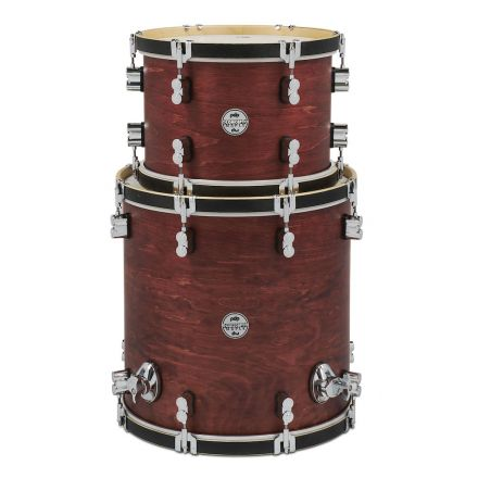PDP Concept Classic Wood Hoop 13/16 Tom Pack, Oxblood Satin
