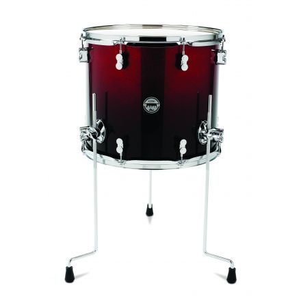 PDP Concept Maple : Red To Black Fade - Chrome Hardware 14X16