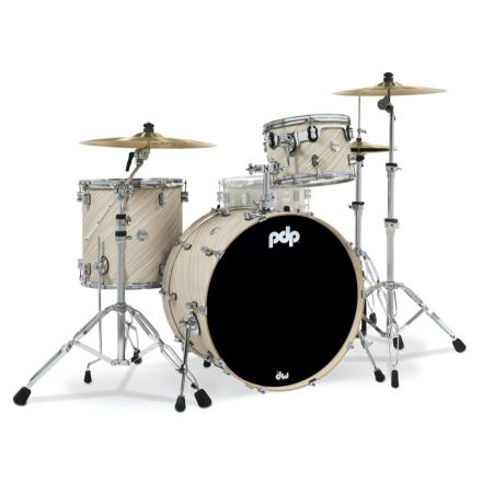 PDP Concept Maple 3pc Rock Drum Set - Twisted Ivory