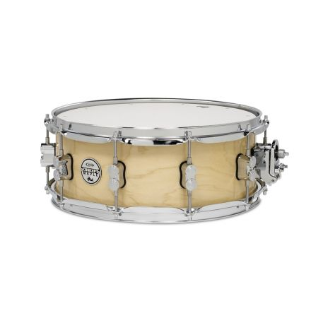 PDP Concept Series Maple Snare, 5.5x14, Natural Lacquer w/Chrome Hw