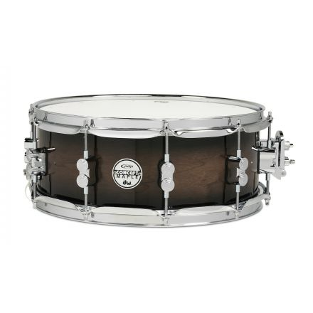 PDP Concept Exotic Walnut Snare Drum 14x5.5 Charoal Burst