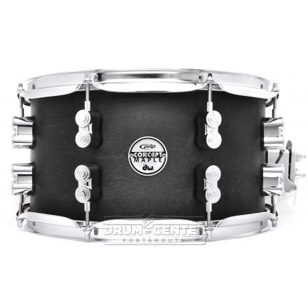 PDP 10ply Maple Snare Drum 13x7 Black Wax