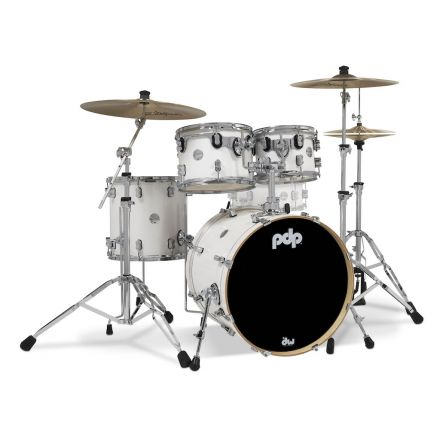 PDP Concept Maple 4pc Drum Set Pearlescent White