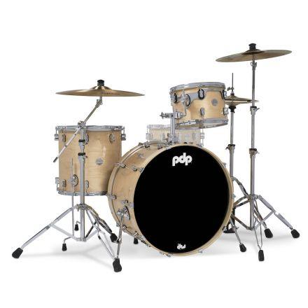 PDP Concept Maple 3pc Rock Drum Set - Natural