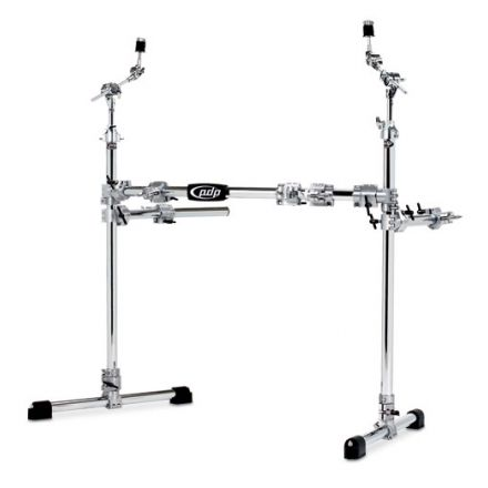 PDP Rack : Chrome Over Steel Main Rack With 2 Side Wings