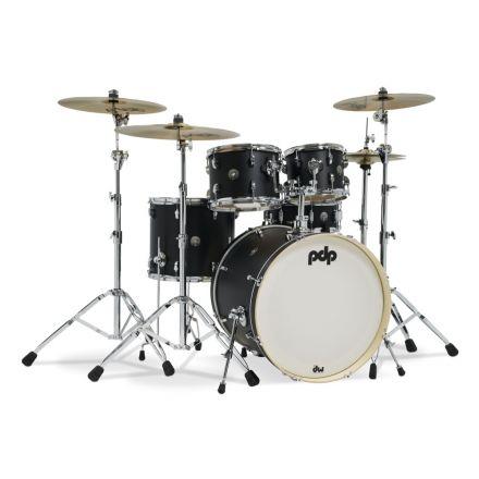 PDP Spectrum Series 5 pc Shell Pack w/22 Bass Drum - Black