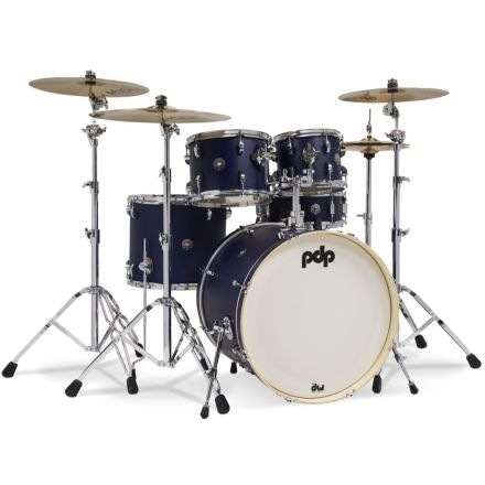 PDP Spectrum Series 5 pc Shell Pack w/22 Bass Drum - Blue