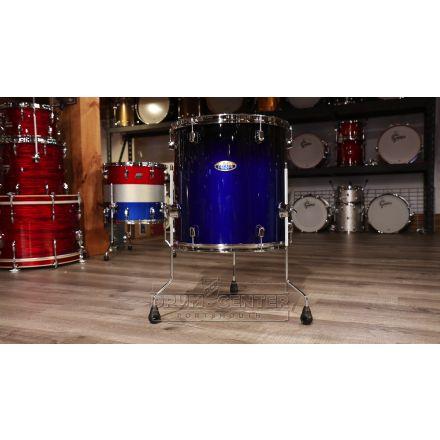 Pearl Decade Maple 18x16 Floor Tom- Kobalt Blue Fade