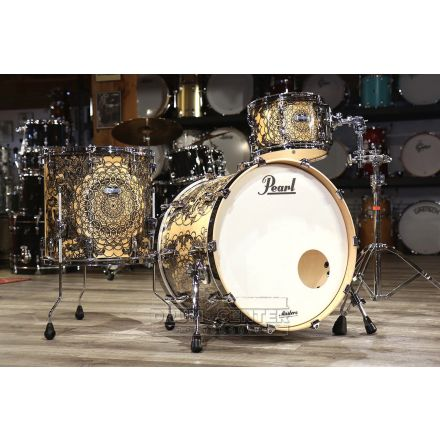 Pearl Masters Maple Complete 3pc Shell Pack w/22bd - Cain & Abel