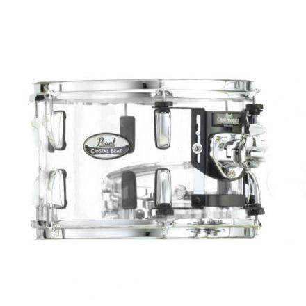 Pearl Crystal Beat Acrylic Tom Tom 8x7 Ultra Clear
