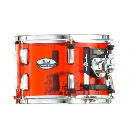 Pearl Crystal Beat Acrylic Tom Tom 10x7 Ruby Red