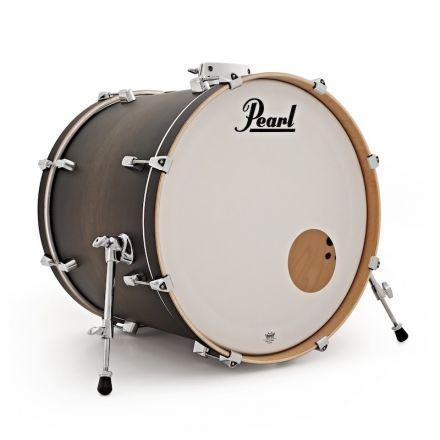 "Pearl Decade Maple 18""x14""Bass Drum - Satin Blackburst"