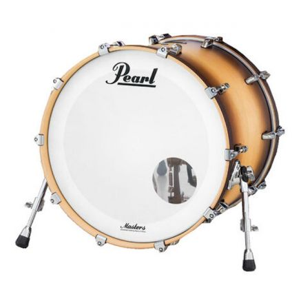 Pearl Masters Maple Complete Bass Drum 20x14 Satin Natural Burst