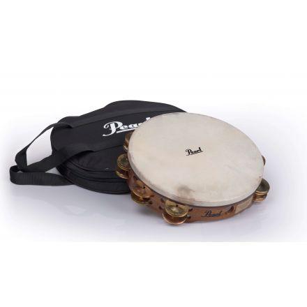 "Pearl Orchestral Tambourines : Beryllium Copper/Brass 10"""