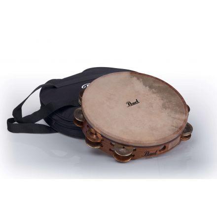 "Pearl Orchestral Tambourines : German Silver/Beryllium Copper 10"""