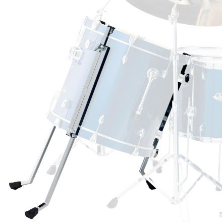 Pearl Multi Fit Bass Legs Chrome, Set of 3