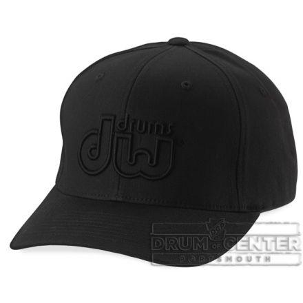 DW Drumwear : Performance Hat Black On Black