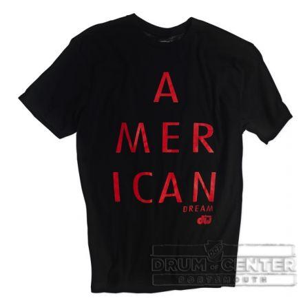 DW Wearables: American Dream, Black T-Shirt, Small