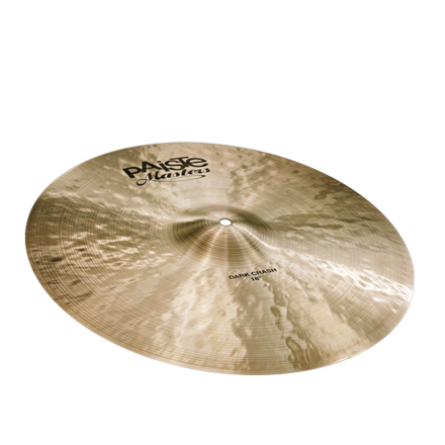 "Paiste Masters Dark Crash Cymbal 17"""