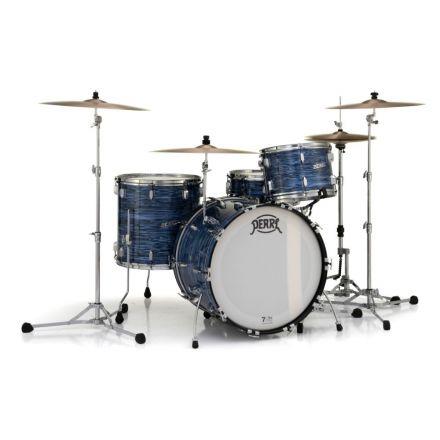 Pearl President Series Deluxe 3pc Drum Set - 22/13/16 - Ocean Ripple