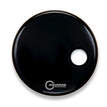 Aquarian Regulator Bass Drumhead 22 Black