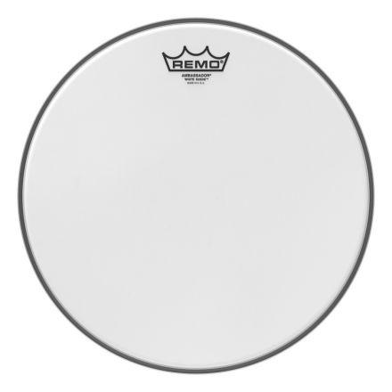 Remo White Suede Ambassador 13 Inch Drum Head