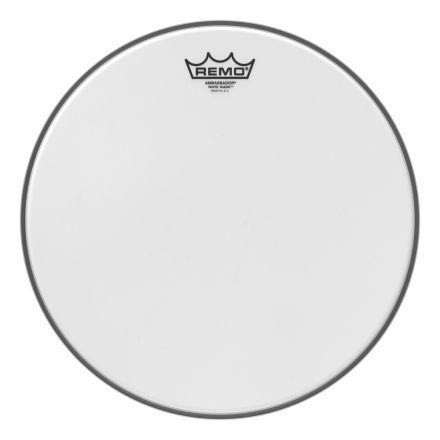 Remo White Suede Ambassador 14 Inch Drum Head