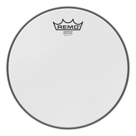 Remo White Suede Emperor 10 Inch Drum Head