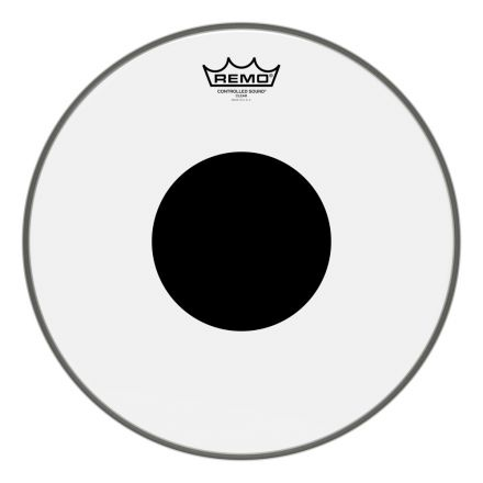 Remo Clear Controlled Sound 14 Inch Drum Head w/Black Dot On Top