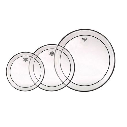 Remo Clear Pinstripe Drum Head ProPack -  12,13,16