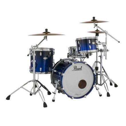 Pearl Reference Series 3pc Drum Set Ultra Blue Fade