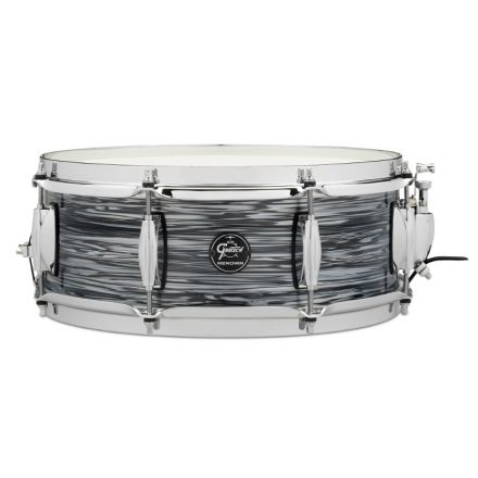 Gretsch Renown Snare Drum : 5x14 Silver Oyster Pearl