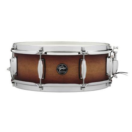 Gretsch Renown Snare Drum : 5x14 Satin Tobacco Burst