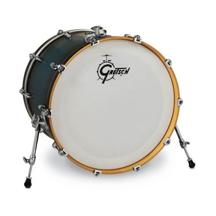 Gretsch Renown Bass Drum 22x18 - Satin Antique Blue Burst