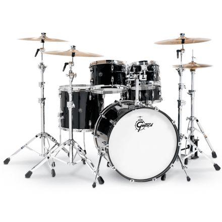 Gretsch Renown Drum Set : 5pc with 22 Bd Piano Black