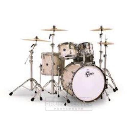 Gretsch Renown Drum Set : Euro 5pc with 22 BD Vintage Pearl