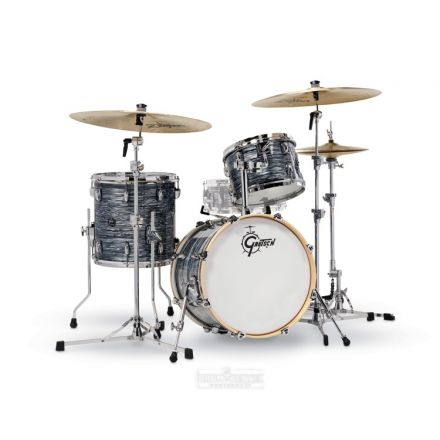 Gretsch Renown 3-Pc Drum Set : 18/12/14 Silver Oyster Pearl