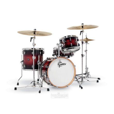 Gretsch Renown 4 Pc Drum Set : 18/12/14/14sn Cherry Burst