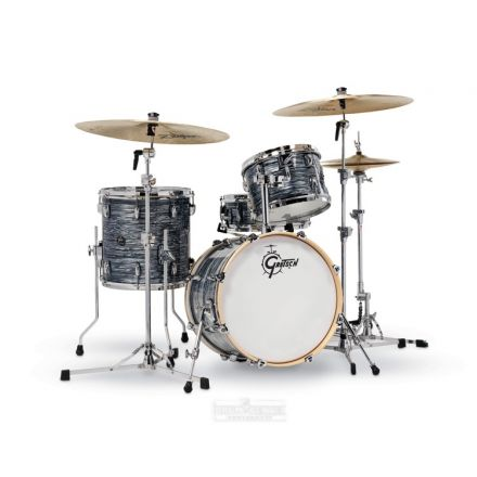 Gretsch Renown 4 Pc Drum Set : 18/12/14/14sn Silver Oyster Pearl