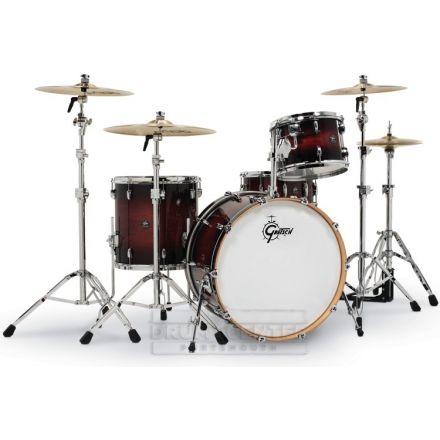 Gretsch Renown 4 Pc Drum Set with 24 Cherry Burst