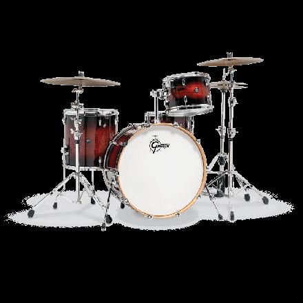 Gretsch Renown Drum Set : 3pc 24/13/16 Cherry Burst