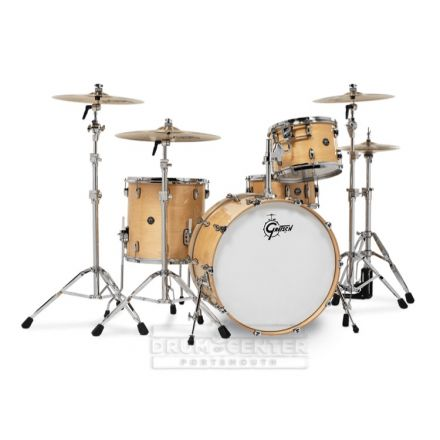 Gretsch Renown 4 Pc Drum Set with 24 Gloss Natural