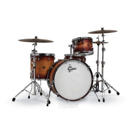 Gretsch Renown 4 Pc Drum Set : 24/13/16/14sn Satin Tobacco Burst
