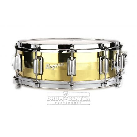 Rogers Dyna-sonic 7-line Snare Drum 14x5 Brass 1.2mm Shell