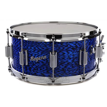 Rogers Dyna-sonic Wood Shell Snare Drum 14x6.5 Blue Onyx