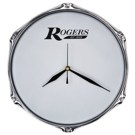 Rogers Drum Clock 10 With Wall Mount