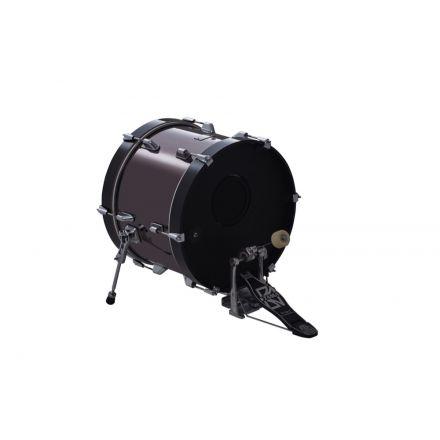 Roland KD-180 18 Inch Bass Drum (black chrome)