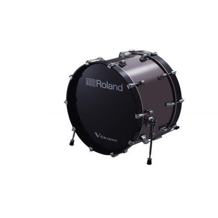 Used Roland KD-220-BC 22 Inch Bass Drum - Black Chrome