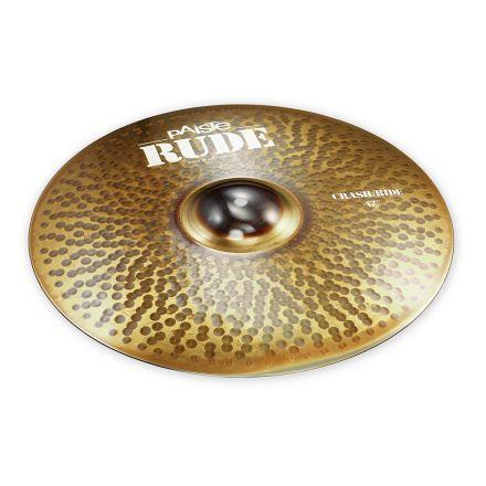 "Paiste Rude Crash Ride Cymbal 17"""