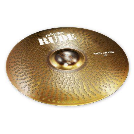 "Paiste Rude Thin Crash Cymbal 16"""